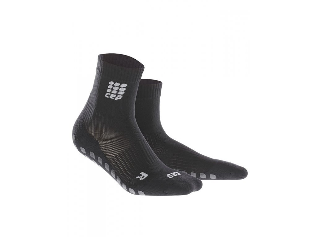Krátke ponožky GRIPTECH pánské černá III