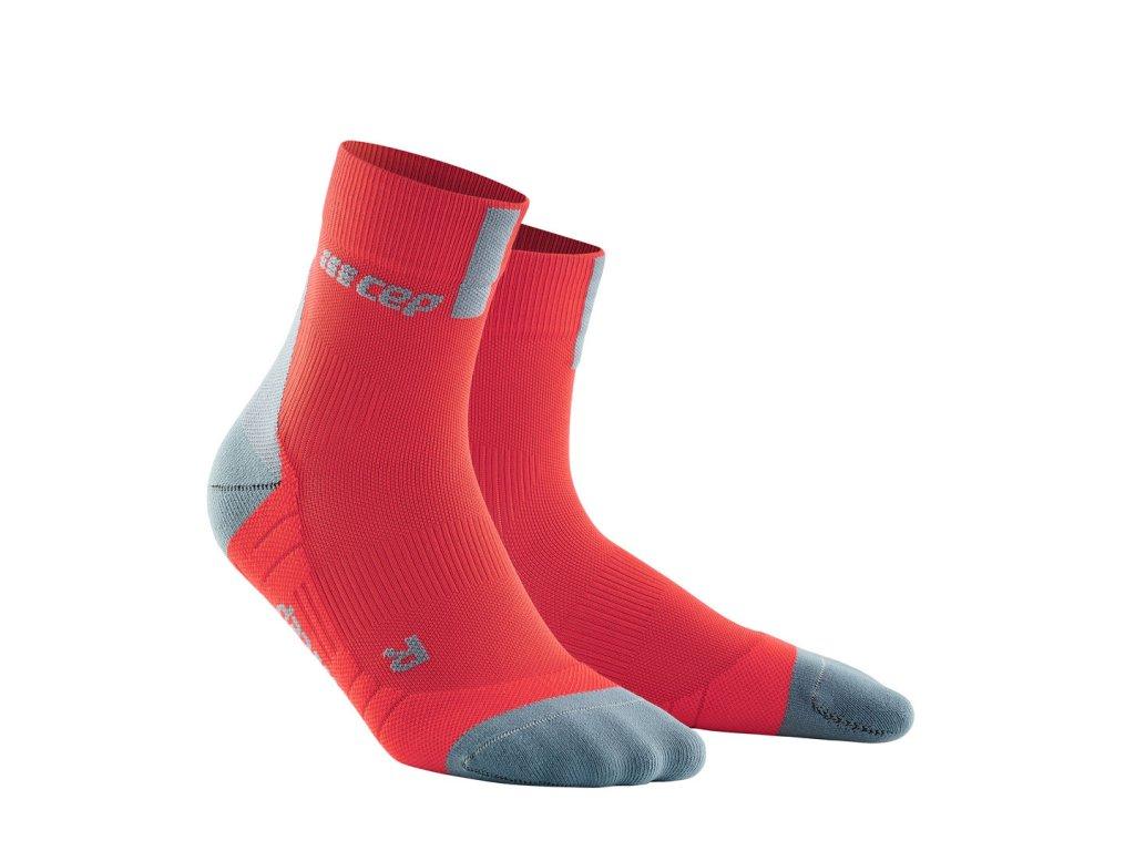 Krátké ponožky 3.0 pánské lávová / šedá III
