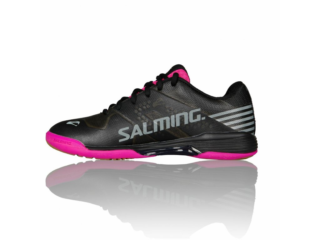 SALMING Viper 5 Women Shoe Black/Pink Jewel