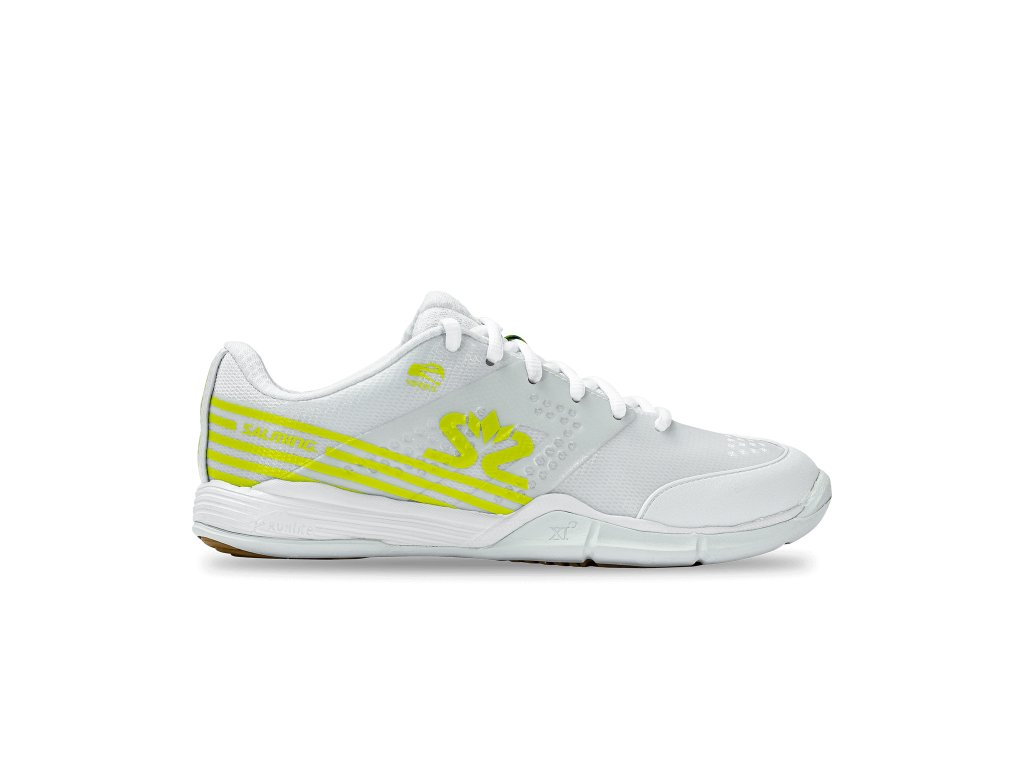 SALMING Viper 5 Shoe Women White/Fluo Green