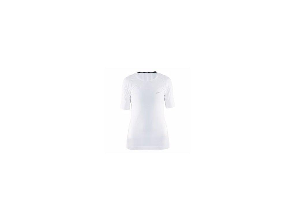 W Triko CRAFT Cool Intensity krátký rukáv bílá L