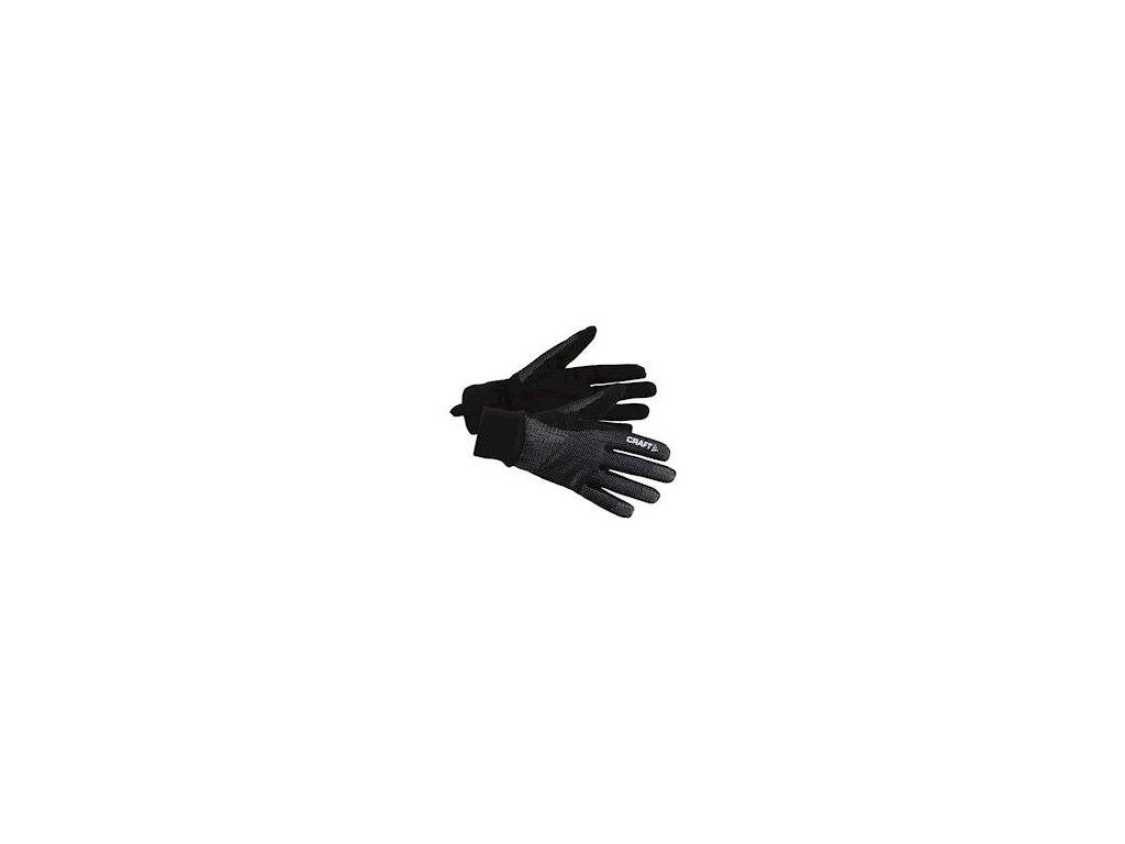 Rukavice CRAFT Vasa černá XXS