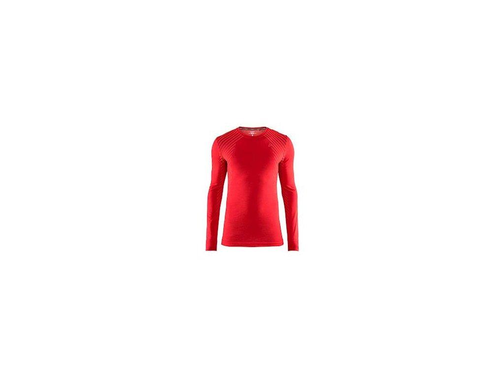 Triko CRAFT Fuseknit Comfort LS červená XL