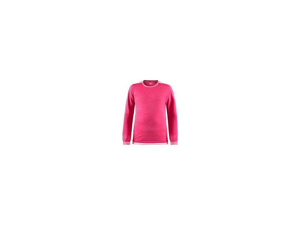 Triko CRAFT Fuseknit Comfort Junior růžová 134/1