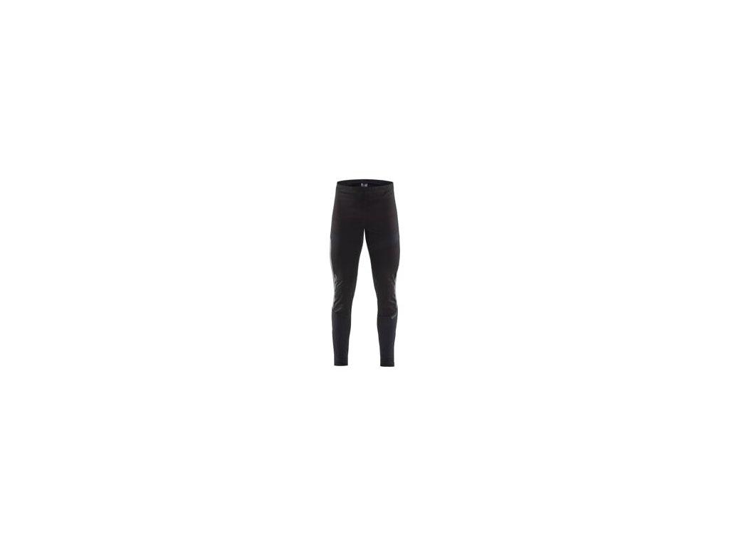 Kalhoty CRAFT Lumen SubZ Wind Tights černá s potiskem S