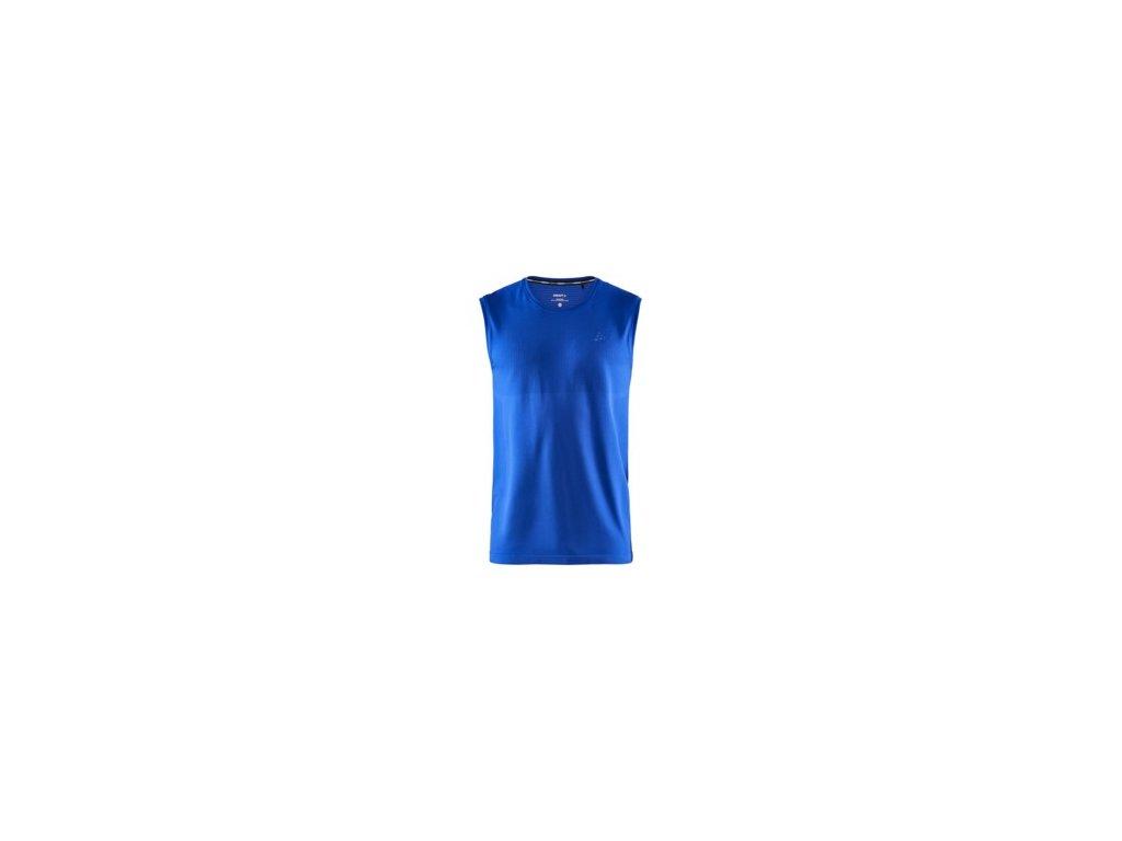 Nátělník CRAFT Fuseknit Light modrá S