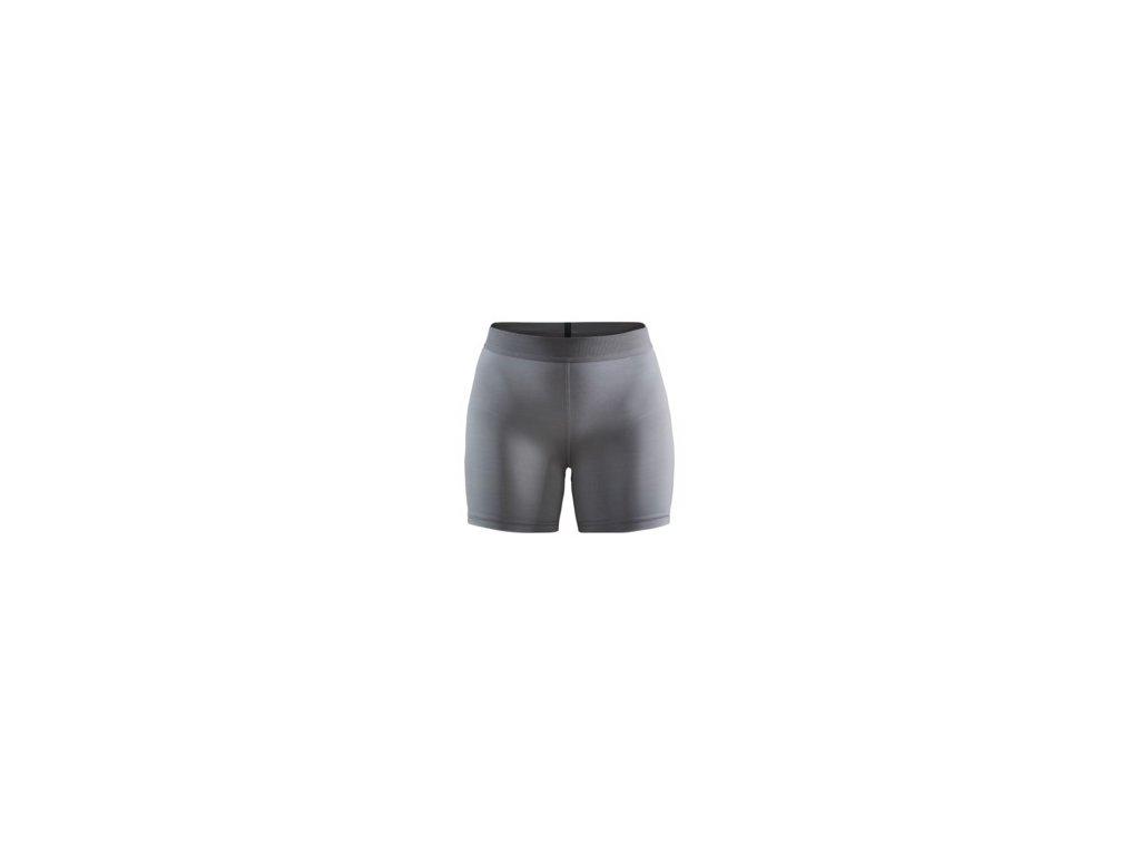 W Kalhoty CRAFT Vent krátké šedá XS