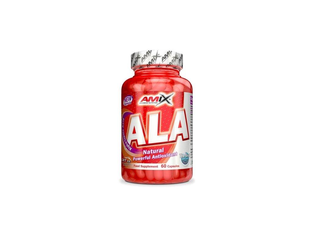 amix ala alpha lipoic acid 60 kapsli