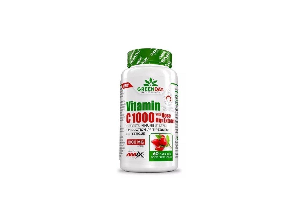 amix vitamin c 1000 s extraktem z sipku 60kapsli