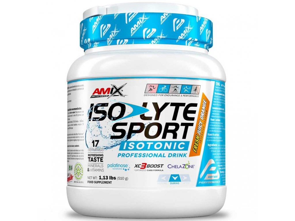 amix isolyte sport drink 510 gr
