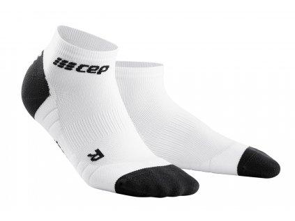 Kotníkové ponožky 3.0 dámské bílá / tmavě šedá II