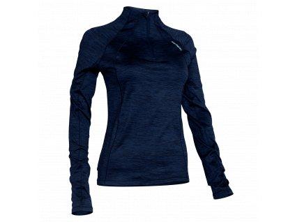 SALMING Norrviken Halfzip Women Blue Melange