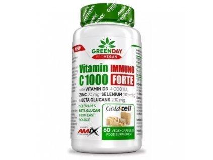 amix provegan vitamin c 1000 immuno forte 60kapsli