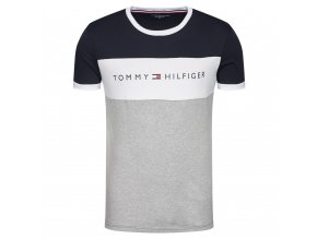 tommy hilfiger t shirt logo flag um0um01170 barevna regular fit (4)