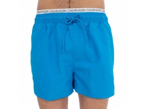short swim shorts with double belt blue ibiza (1)