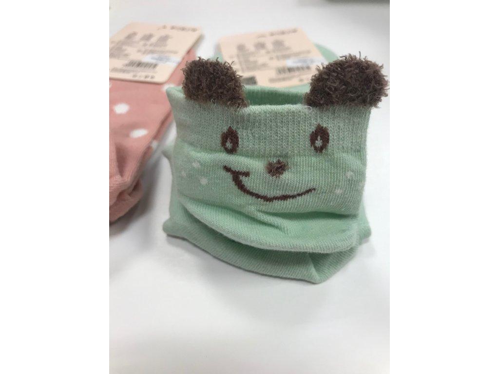 Dámske členkové ponožky Uško 740