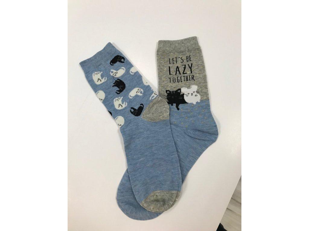 Dizajnové ponožky Leňošky
