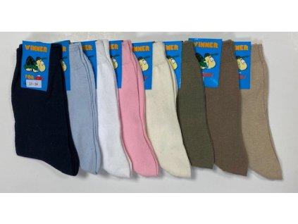 Detské bavlnené ponožky WINNER