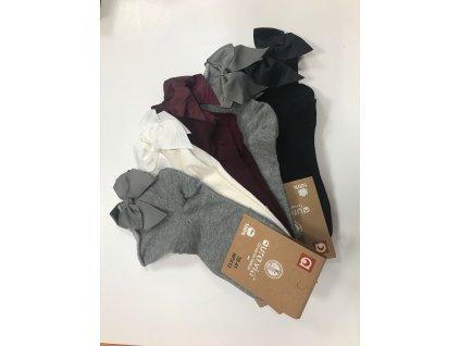 Dámske členkové ponožky Mašľa 740