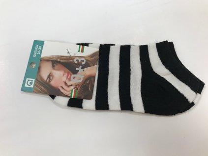 Dámske členkové ponožky 703