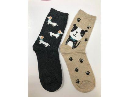 Dizajnové ponožky Havkáči