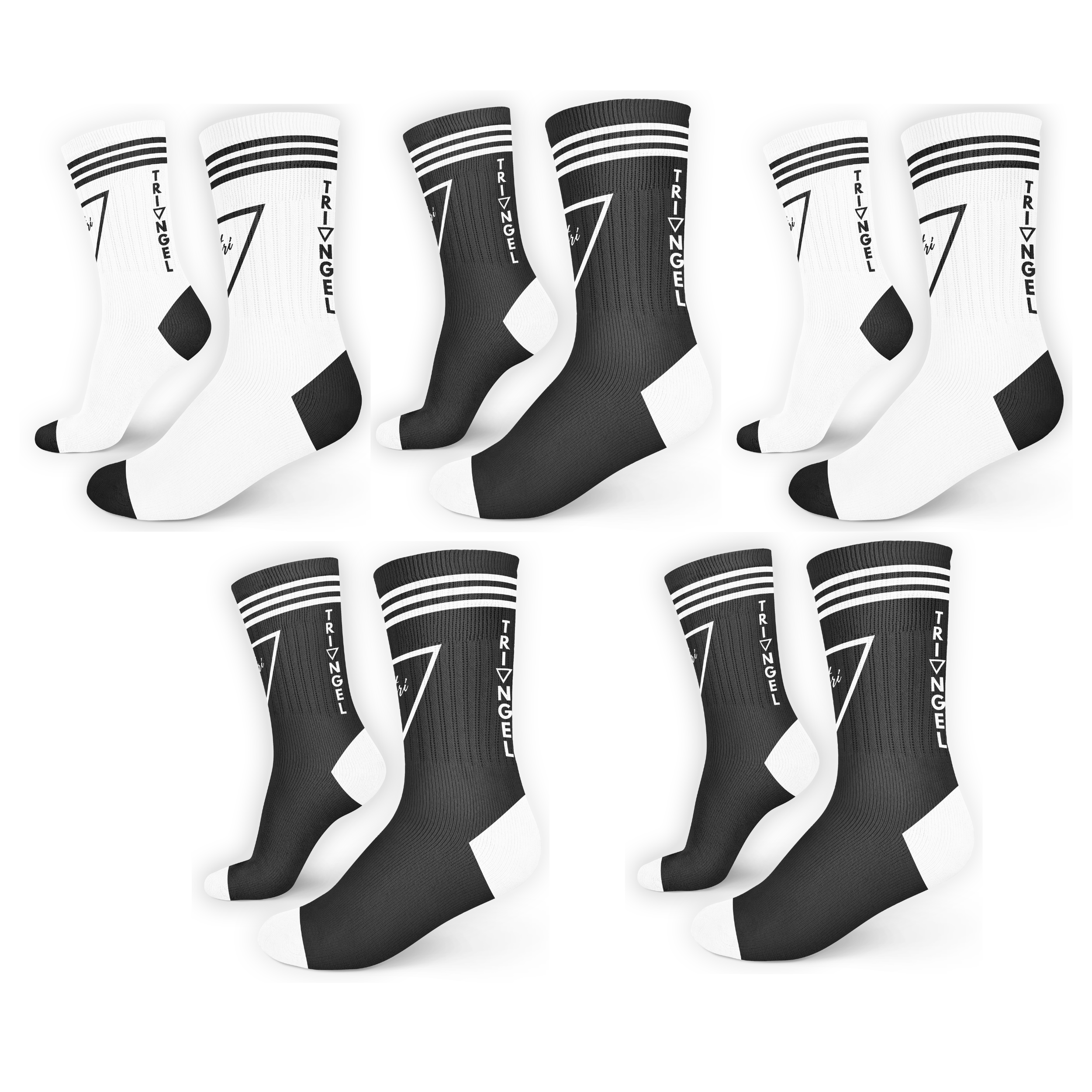 5pack City Socks