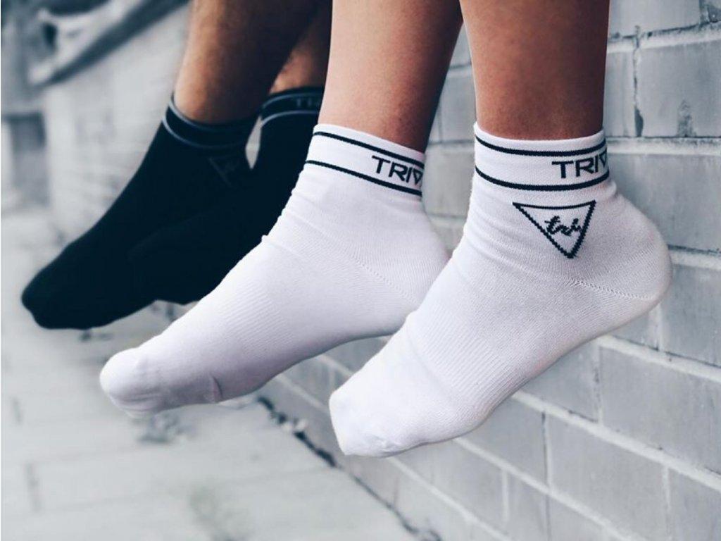 ponožky kotníkové se stříbrem