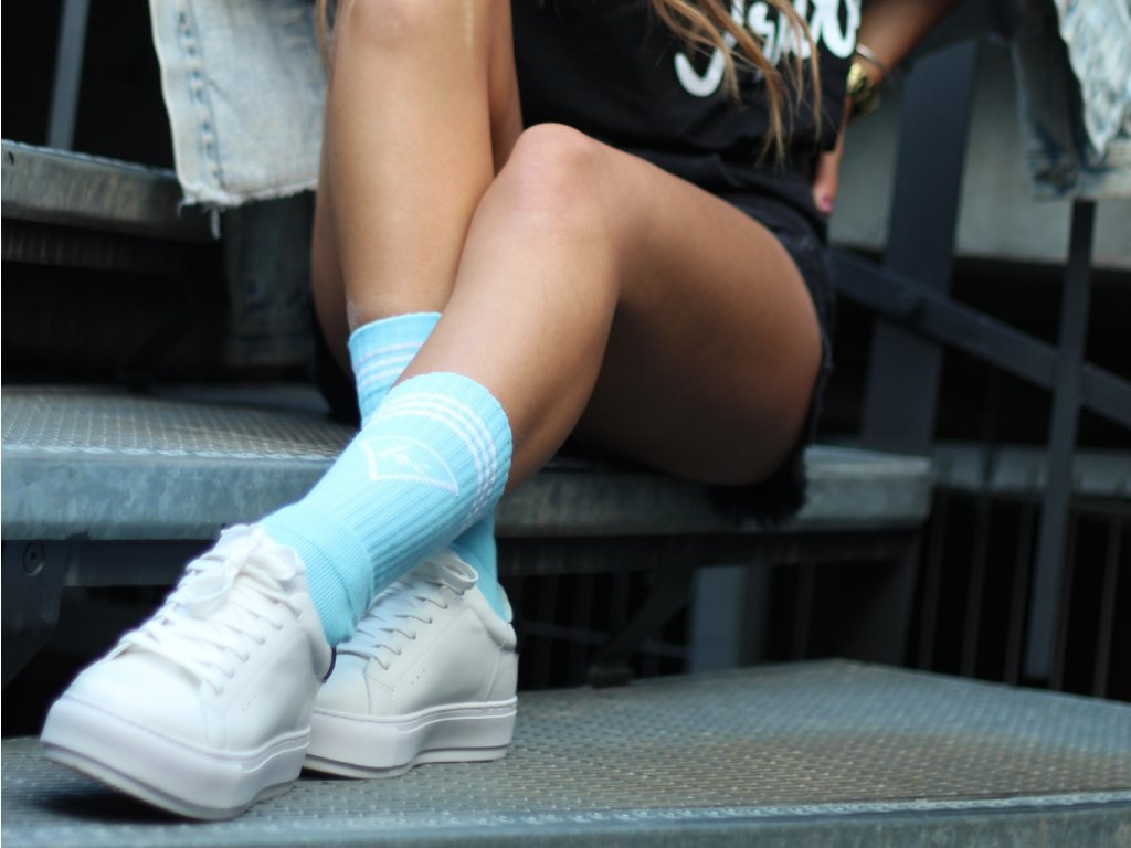 Triangel City Socks Blue