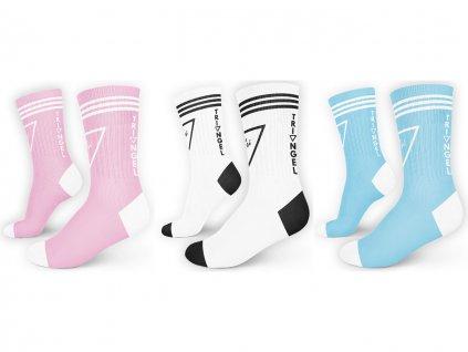 ponožky 3 pack