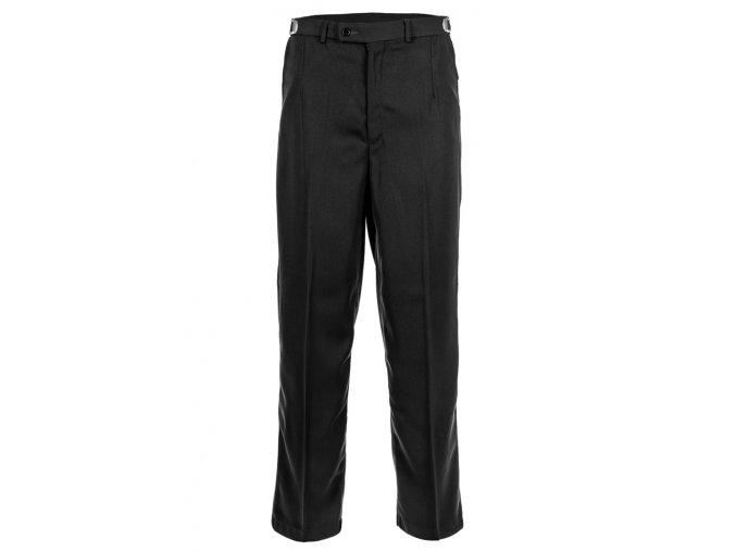 Kalhoty společenské černé Z0025