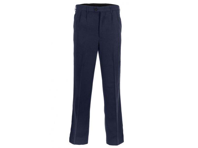 Kalhoty společenské modré Z0026