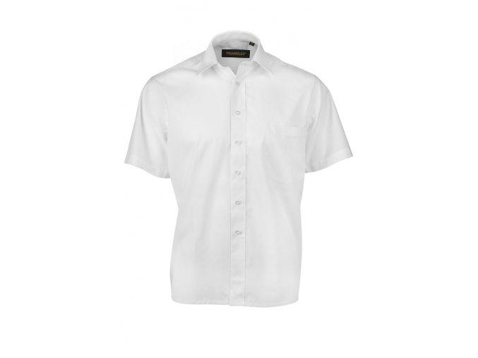 Košile společenská bílá KR Z0081