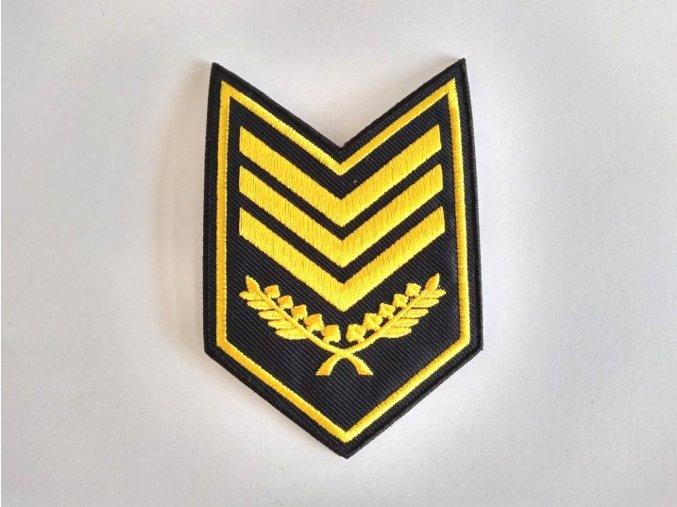 Nášivka Zástupce velitele MP Z0404 B3Z