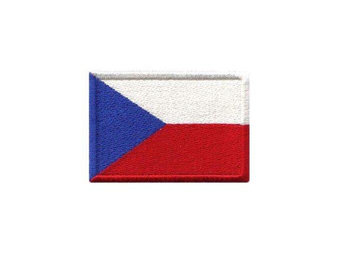 Nášivka Vlajka ČR 27x20 mm