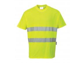 Reflexní tričko Bavlna Comfort PWS172