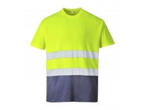 Reflexní tričko dvoubarevné PWS173