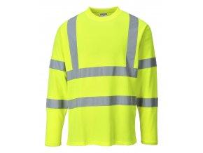 Reflexní tričko s dlouhým rukávem PWS278