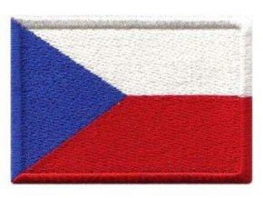 Nášivka Vlajka ČR 40x32 mm