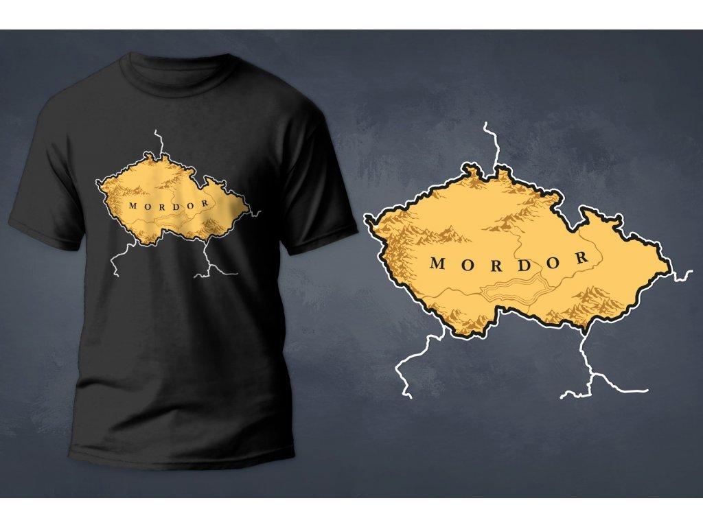 MORDOR - Pánské tričko s potiskem