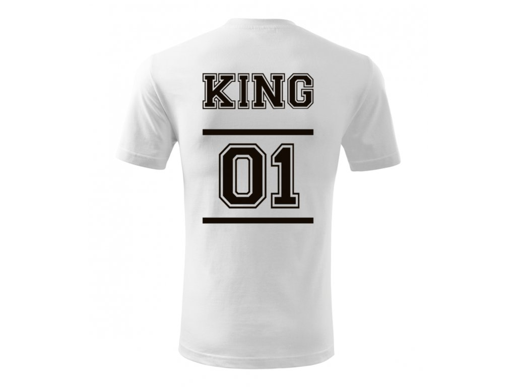 Tričko pro muže s potiskem - King