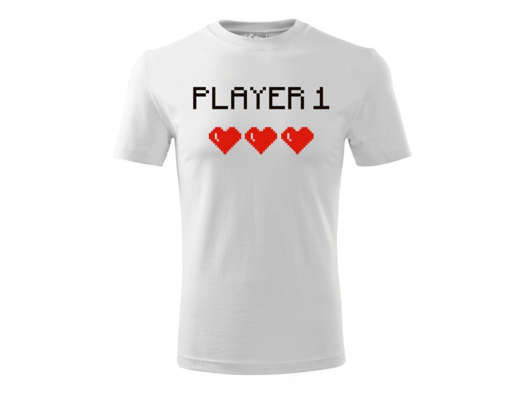 Player 1 - Pánské tričko pro hráče