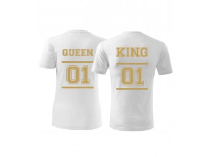Tričko pro páry King and Queen DELUXE