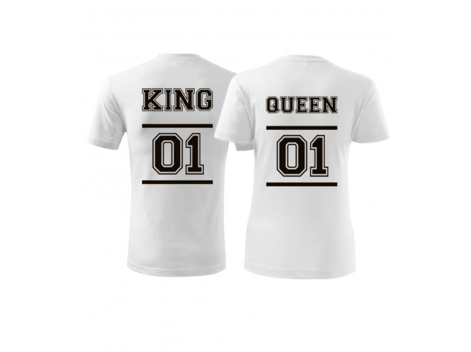 Tričko pro King and Queen