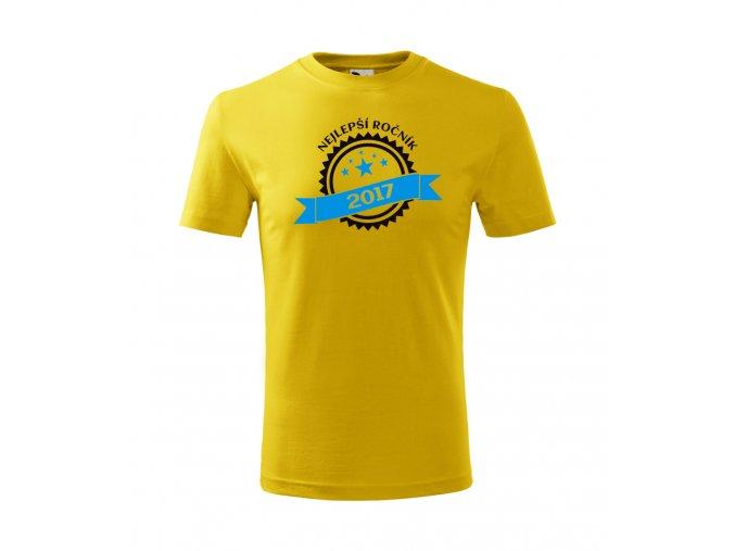 Narozeninové tričko pro kluka - Nejlepší ročník