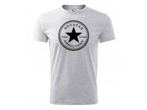Absolventské tričko - Třída hvězd - Šedý melír