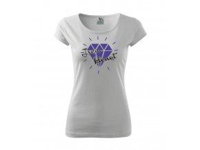 Dámské tričko s potiskem - Jsem klenot