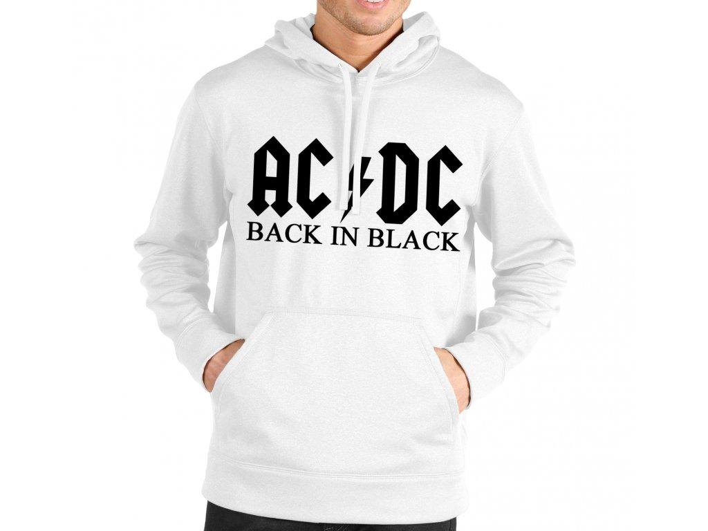 2d1afbbdbce Mikina AC DC Black In Black - trickaris.sk