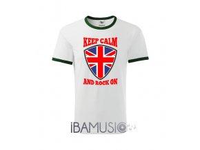 Tričko KEEP CALM AND ROCK