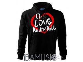 Mikina ONE LOVE ROCK 'N' ROLL
