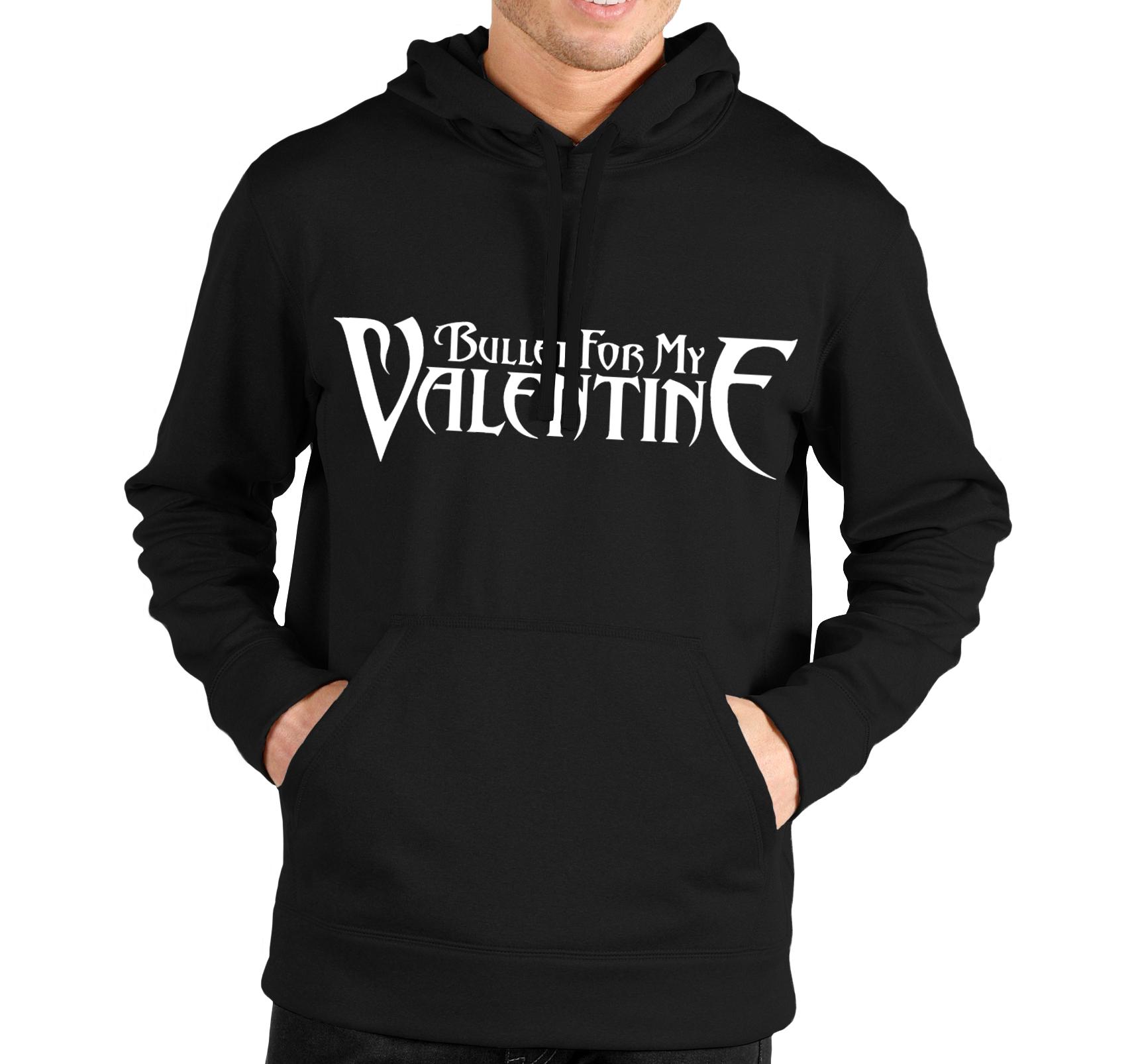 Mikina Bullet For My Valentine Veľkosť: M, Pohlavie: Čierna